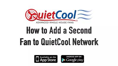 Wifi smart control, How to add a 2nd fan