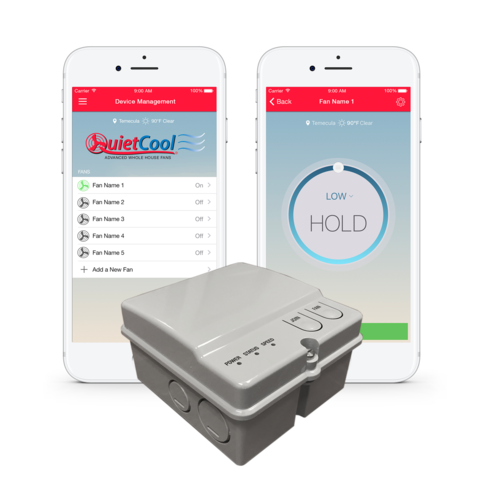 wifi smart control and app