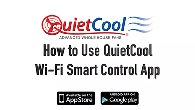 How to use the wifi smart control app